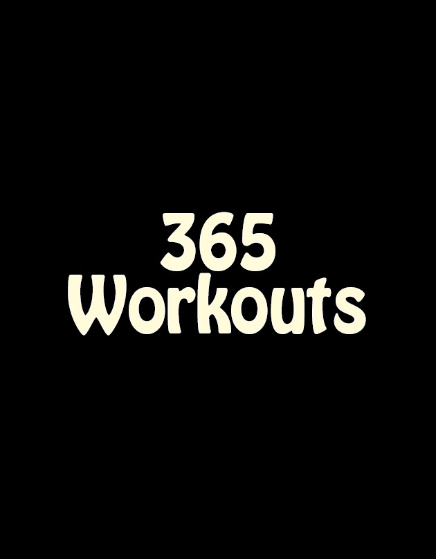 365 workouts front cover